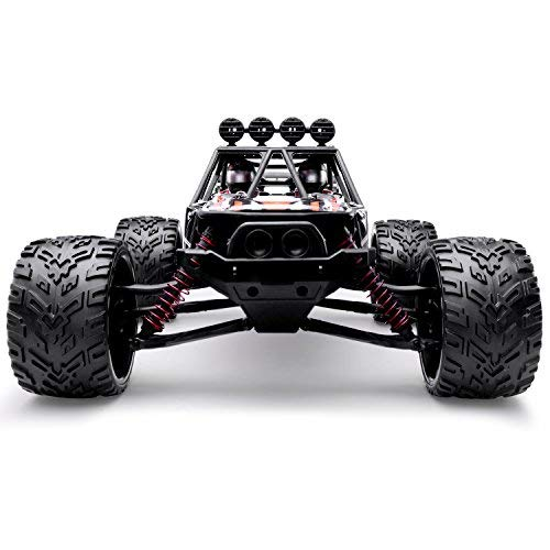 Hosim RC Truck S913, 1 12 Scale Funk Controlled Electric Car 38 km h Offroad 2,4 GHz 2WD Radio Controlled Truggy Auto Enthusiasten (Orange)*