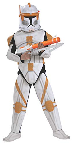 Clone Trooper Kostüm Commander - Rubie's Commander Cody Kostüm Clone Trooper Deluxe für Kind