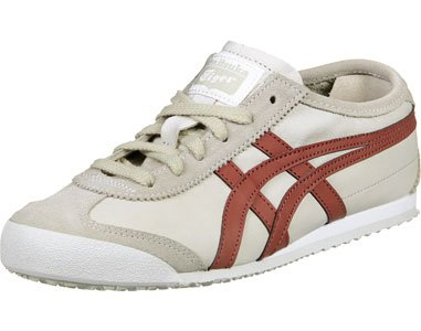 Asics Mexico 66, Sneakers basses mixte adulte beige rouge