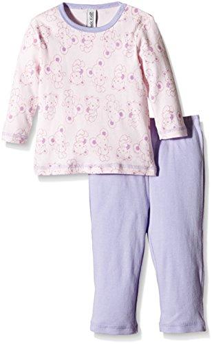 Magic Kids Mädchen Zweiteiliger Schlafanzug Gr. 122, Violett (Lavender 630)