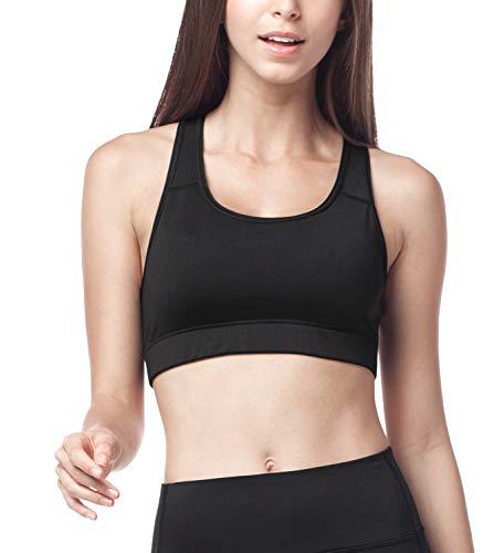 Lapasa Soutien-gorge Brassière de Sport femme Sans armature Dos nageur -  Yoga Gym Fitness 6301a2c3008