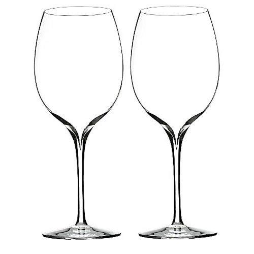 Waterford Crystal Elegance Wine Geschichte Pinot Grigio Wein-Glas-Pair (Wein Gläser Waterford)