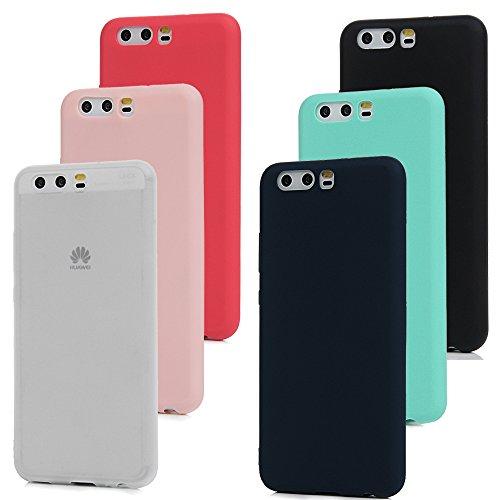 6x Cover Huawei P10 , Custodia Morbida Silicone TPU Flessibile Gomma - MAXFE.CO Case Ultra Sottile Cassa Protettiva per Huawei P10 - 6 Pezzi