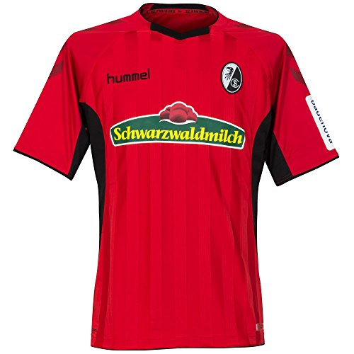 Hummel Erwachsene SCF Home SS 18/19 Trikot, True Red/Black, XL