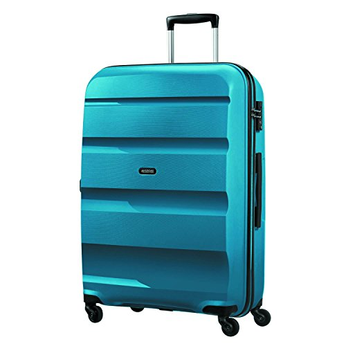 American Tourister Bon Air - Spinner L Bagage cabine, 75 cm, 91 liters, Bleu (Seaport Blue)