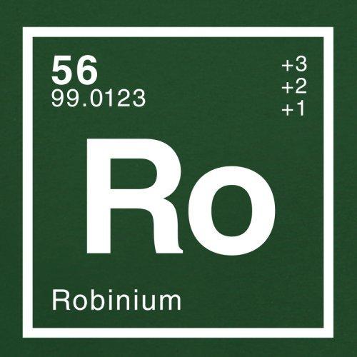 Robin Periodensystem - Herren T-Shirt - 13 Farben Flaschengrün