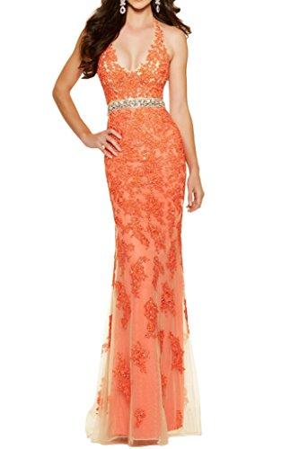 Victory Bridal - Robe - Crayon - Femme Orange - Orange