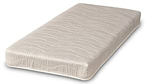 Visco Therapy Superior Comfort Coil Spring Mattress, Jersey, White, Double, 4 ft 6-Inch, 16 cm