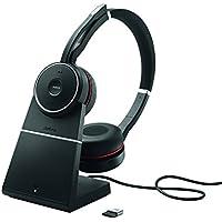 Jabra 7599-838-199 Evolve 75 UC DUO, Bluetooth, USB Dongle und Ladestation