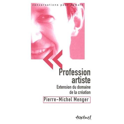 Profession artiste : Extension du domaine de la création