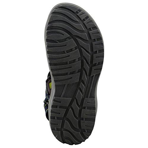 McKinley Homme Randonnée Trekking Outdoor Loisirs de sandales Maui Noir 262118 BLACK/ NAVY DARK/ AN