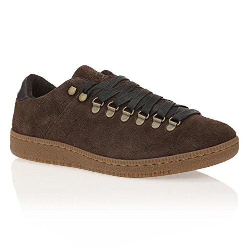 DIESEL - Herren Sneakers Low top CONTEMPO IRON Braun (Licorice T8010)