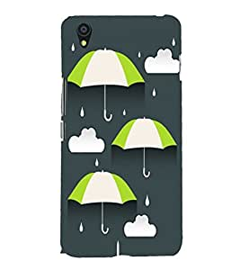 Umbrellas 3D Hard Polycarbonate Designer Back Case Cover for OnePlus X :: One Plus X :: One+X