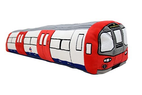 London Underground 3D Tube Train Plush Toy Cushion - Large 80cm