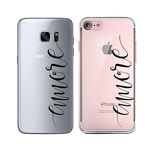 Silikon transparent Case mit Motiv Handy Schutz Hülle Cover Tasche Slim Schutzhülle mit Muster Bumper TPU für Samsung Galaxy Samsung A5 2015 emore M11#4 M114 Mobile
