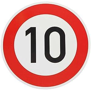 ORIGINAL Verkehrszeichen 10 Geburtstagsschild Verkehrsschild Geburtstag Schild Straßenschild