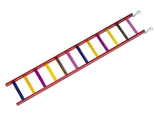 Nobby Hundespielzeug Plexiglas in Form Leiter + 12Stufen für Vogel 61x 10cm