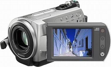 Sony DCR-SR32 Camcorder (Festplatte, 30GB, 40-fach opt. Zoom, 6,4 cm (2,5 Zoll)...