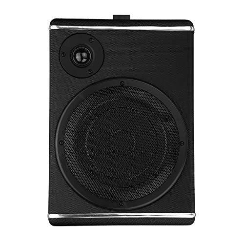 AVANI EXCHANGE 8 Inch 60W Active Under Seat Car Audio Stereo Subwoofer Speaker Slim Sub Woofer AMP Super Bass Slim-woofer