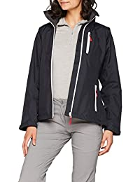 Helly Hansen W Crew Hooded Midlayer Chaqueta, Mujer, Negro, Large
