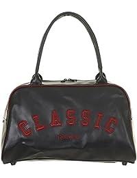 Reebok CL Vars PU Duff - Bolsa, color negro / rojo, talla única