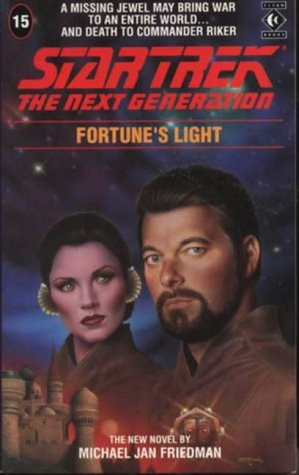 Cover of Fortune's Light (Star Trek: The Next Generation 15)