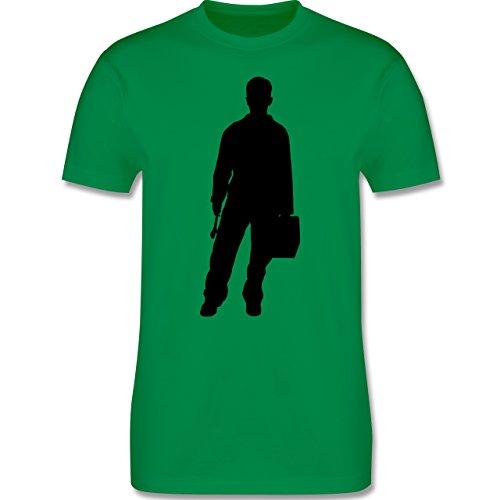 Handwerk - Installateur - Herren Premium T-Shirt Grün