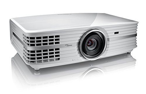 Best Optoma UHD550X 4K UHD 2800 ANSI Lumens DLP Home Entertainment Projector – White on Amazon