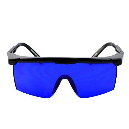 cloudwhisper 1Golf Ball Finder Hunter Retriever Gläser-Spezial getönte Gläser Filter Out Gras und Blattwerk SO WHITE GOLF BÄLLE erscheinen zu Glow für einfach Visual Tonabnehmer