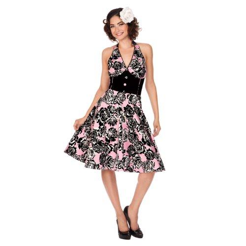 Voodoo Vixen Kleid DRA2126 pink L