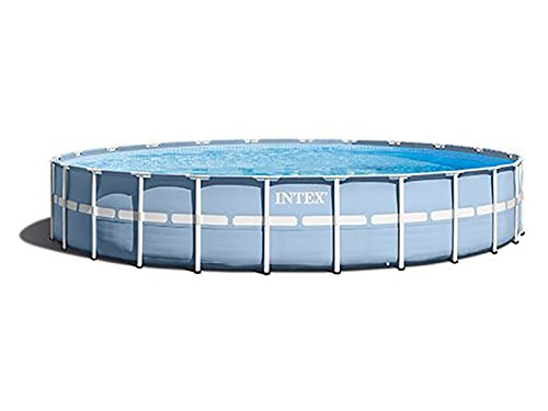 Intex Prism Rondo Frame Pool Set, 16805 liters, Blau, Durchmesser 457 x 122 cm