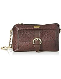 Hidesign Women's Shoulder Bag (Brown)