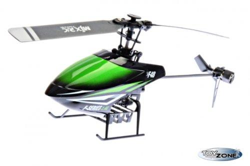 Rc Hubschrauber Flybarless F-648 4 Kanal 2.4 GHZ Digital GYRO Singel RTF (Hubschrauber Rc 4-kanal)