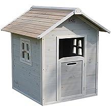 EXIT Beach 100 - casas de juguete (Floorstanding playhouse, Niño/niña, Gris, Madera, Madera, EN-71, 990 x 1305 x 175 mm)