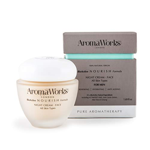 AromaWorks Men 's Night Cream 50 ml (S Frisur 50)