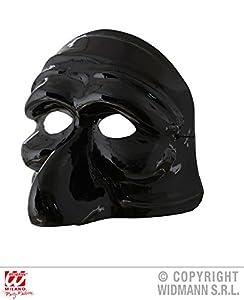 widmann-46865disfraz Adulto Unisex, Color Negro, wdm46865