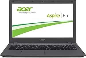 Acer Aspire E 15 (E5-573-54QG) 39,6 cm (15,6 Zoll) Full HD Laptop (Intel Core i5-5257U, 8 GB RAM, 500 GB SSHD, DVD, Intel Iris 6100, Win 10) schwarz