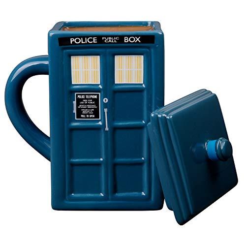 WESCO Doctor Who Becher Tardis mit Deckel