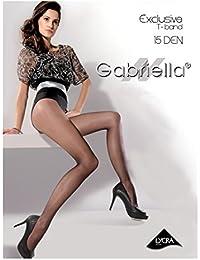 Gabriella-collants 15 le t-band exclusive, noir, melissa neutro, gaselle, glace, beige