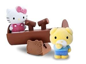 vellutata hello kitty balan oire bascule agr s et figurines 4cm import royaume uni. Black Bedroom Furniture Sets. Home Design Ideas