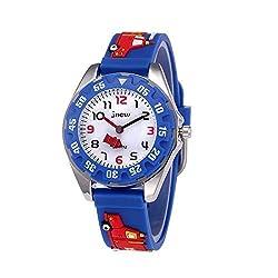 CYMY Uhren use hochwertigen japanischen Quartz-Uhrwerk für Genauigkeit. Und die lustigen Karikatur Stil Uhren mit seiner niedlichen Stil Charakter mit 3D Cartoon Design. Neben, das angenehme Silikonband mit gesunden Umwelt-Materialwird nicht weh Kid ...