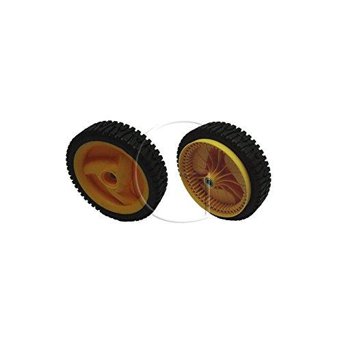 Ruota per tagliaerba McCulloch, n° originale: 532402936,ruota anteriore boccola in metallo