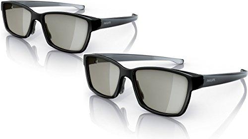 Philips PTA436/00 2 passive 3D-Brillen für Fullscreen Gaming