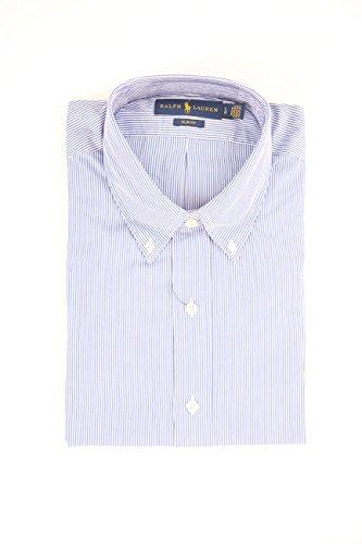 Polo Ralph Lauren Herren Freizeithemd LS Slim FIT BD Blue/White HAI, Mehrfarbig G4AVP, X-Large