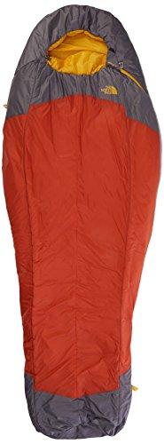 THE NORTH FACE Erwachsene Schlafsack Lynx orange Rust/zinc Grey 197 x 78.5 x 1 cm, 4.3 Liter
