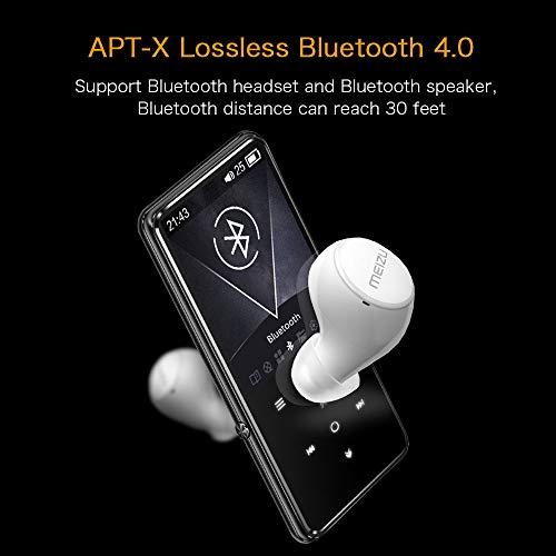 Mibao Lettore MP3 Bluetooth4.0, Lostless Music Player 16GB con 2.4' TFT Display a Colori, Pulsante di Tocco, con Radio FM/Registratore Vocale/Immagine/E-book, Supporto Espandibile Max Fino a 64GB - 7