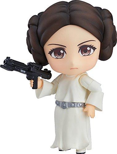 Star Wars Princesa Leia Nendoroid Figura Estatua Colección Anime Art