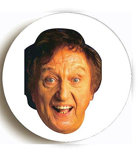 Ken Dodd Image Rip Comment Chatouille I Am Miroir compact rond imprimé conçu sur mesure 58mm. fantaisie Miroir de maquillage Idéale pour votre sac à main. Kaboom cadeaux
