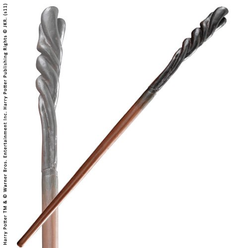 Neville Longbottom Character wand. Harry Potter Noble Collection. (accesorio de disfraz)