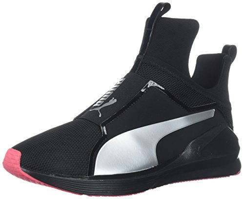 Puma PumaFierce Core - Scarpe Indoor Multisport Donna, Nero Black-Paradise Pink, 38 EU